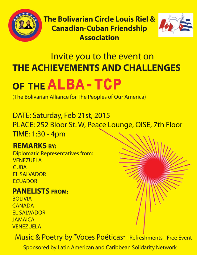 Achievements & Chanllenges of the ALBA-TCP