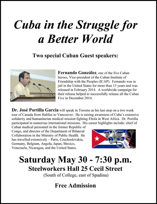 Cuba in Struggle for a Better World